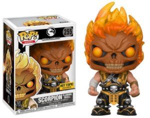 Funko Pop - Games - Scorpion (Exclusivo Hot Topic)