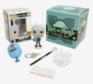 FUNKO POP - RICK AND MORTY: MYSTERY BOX (EXCLUSIVO HOT TOPIC)