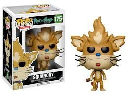 Funko Pop - Rick and Morty: Squanchy - Nº 175