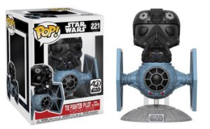 Funko Pop - Star Wars: Tie Figther With Pilot Deluxe