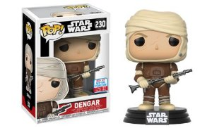 FUNKO POP - STAR WARS - DENGAR (EXCLUSIVO NYCC 2017)