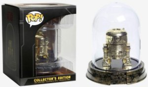 FUNKO POP - STAR WARS - R2-D2 GOLD NO DOMO (EXCLUSIVO HOT TOPIC)
