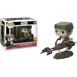 Funko Star Wars: Luke with Speeder Bike (chase)  Nº 229