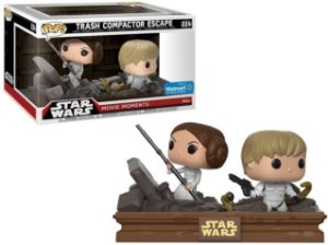 FUNKO POP - STAR WARS: MOVIE MOMENTS - TRASH COMPACTOR ESCAPE (EXCLUSIVO WALMART)