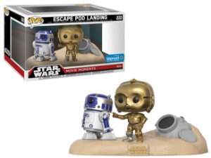 FUNKO POP - STAR WARS: MOVIE MOMENTS - ESCAPE POD LANDING (EXCLUSIVO WALMART)