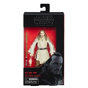 HASBRO - STAR WARS BLACK SERIES - QUI GON JINN