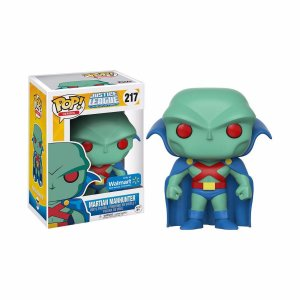 Funko Pop - Justice League - Martian Manhunter (Exclusivo Wall Mart)