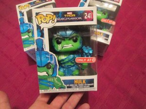 Funko POP - Thor Ragnarok: Hulk Blue (Exclusivo Target)
