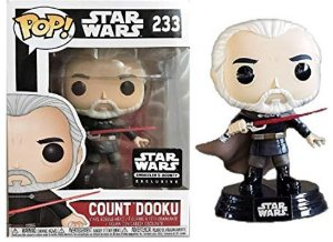 FUNKO POP - STAR WARS - COUNT DOOKU ( EXCLUSIVO SMUGGLER BOUNTY)