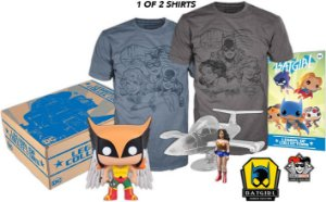 Funko Pop - Legion Of Collectors  - Box Wonder Woman