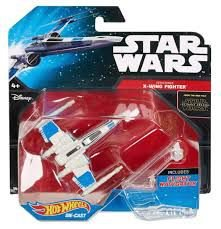 HOT WHEELS - STAR WARS - RESISTANCE - X-WING FIGHTER