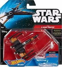 HOT WHEELS - STAR WARS - POE'S - X-WING FIGHTER
