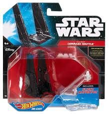Hot Wheels - Star Wars - Kylo Ren's -  Command Shuttle