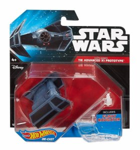 Hot Wheels - Star Wars - Darth Vader's - Tie Advanced X1 Prototype