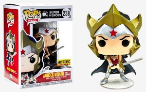 Funko Pop - Dc Super Heroes: Wonder Woman from Flashpoint (exclusiva Hot Topic) - Nº 238