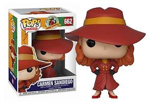 Funko Carmen Sandiego: Carmen Sandiego Nº 662
