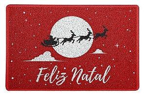 Capacho: Feliz Natal - 60x40cm
