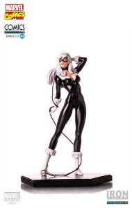 Iron Studios - Spiderman: Black Cat Art Scale 1:10-Exclusiva