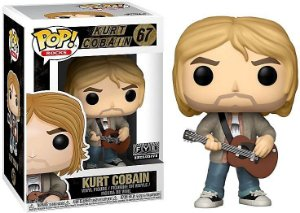Funko Rocks: Kurt Cobain (exclusivo FYE) Nº 67