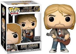 Funko Pop - Rocks: Kurt Cobain (exclusivo FYE) - Nº 67