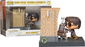 Funko Pop - Harry Potter: Harry Potter Entering Plataform (exclusivo Box Lunch) - Nº 81
