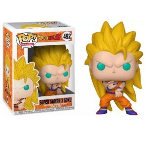 Funko Pop DBZ: Super Saiyan Goku 3 (Excl. Game Stop) 492