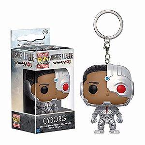 Funko Chaveiro Justice  League: Cyborg
