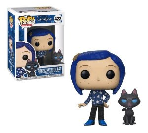 Funko Coraline: Coraline with cat Buddy nº422