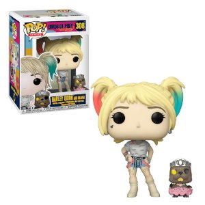 Funko Pop Birds Of Prey: Harley Quinn And Beaver 308