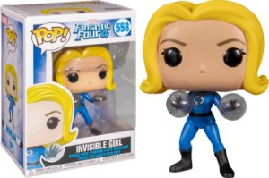 Funko Pop Marvel Fantastic Four: Invisible Girl 558