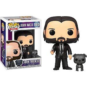 Funko Pop John Wick: John (Black Suit) with Dog 580