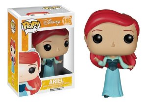 Funko Pop Pequena Sereia: Ariel in Blue Dress 146