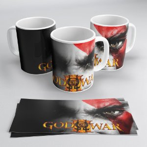 Caneca Personalizada: God of War