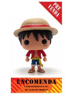 Funko Pop One Piece: Monkey d. Luffy Nº98 - Pré Venda