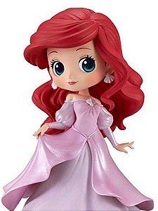 QPosket Pequena Sereia: Ariel vestido rosa