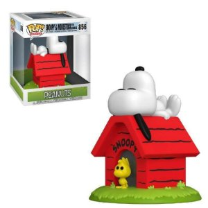 Funko Pop Snoopy & woodstock with doghouse 856
