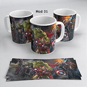 Caneca Personalizada Vingadores