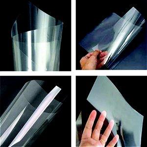 Folhas e bobinas de acetato transparente 20 micras
