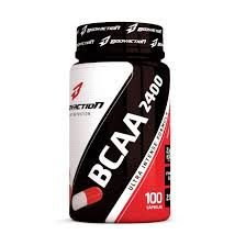 Bcaa 2400 100 capsulas - bodyaction