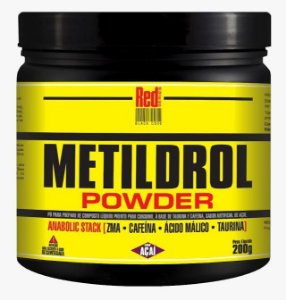 METILDROL POWDER (200g) AÇAÍ - RED SÉRIES