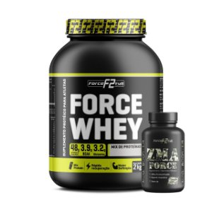 COMBO Force Whey 2Kg + Zma 120 cáps - F2 Force Full