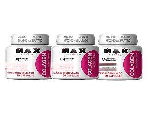 Combo 3 colagenos 100 cápsulas  Max Titanium