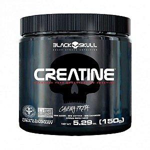 CREATINE 150G LINHA CAVEIRA PRETA - BLACK SKULL