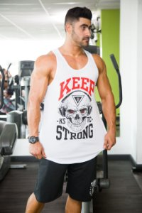 Regata Caveira Long - Keep Strong