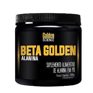 Beta Golden Alanina contém 3,3g de alanina
