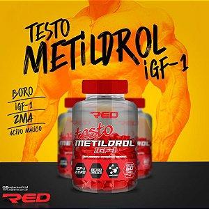 Testo Metildrol IGF-1 60 tabletes - RED SERIES
