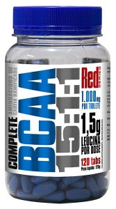 Bcaa 1500mg 120 Tablets - Red Series