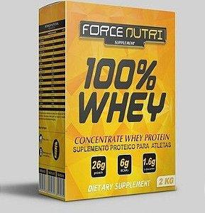 100% WHEY FORCE NUTRI 2KG BAUNILHA