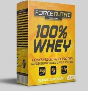 100% WHEY FORCE NUTRI 2KG MORANGO