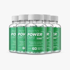 Phyto Power Caps - Promoção 5 Unidades